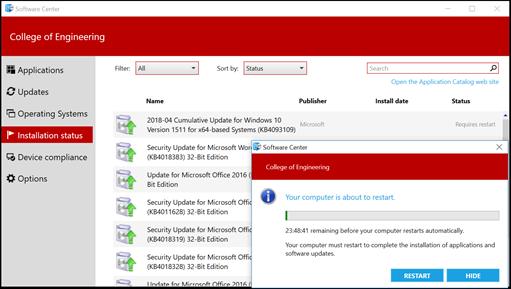 Software Center - Customer Documentation - ETS WiKi